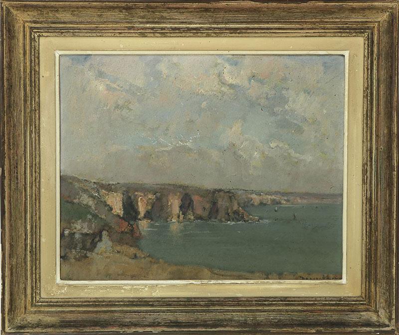 Désiré Lucas - La Baie de Dinan