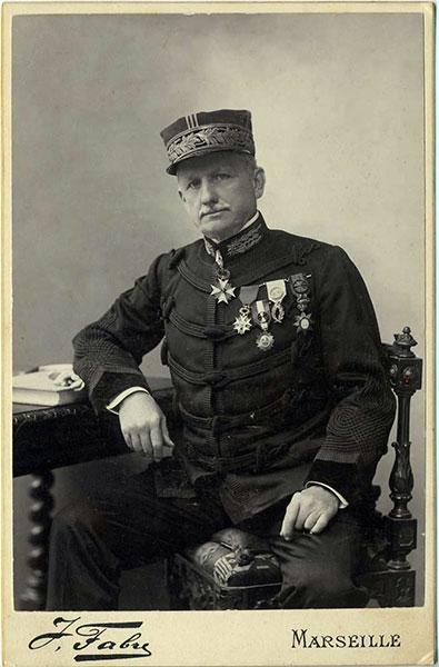 Le Docteur Clarac en uniforme