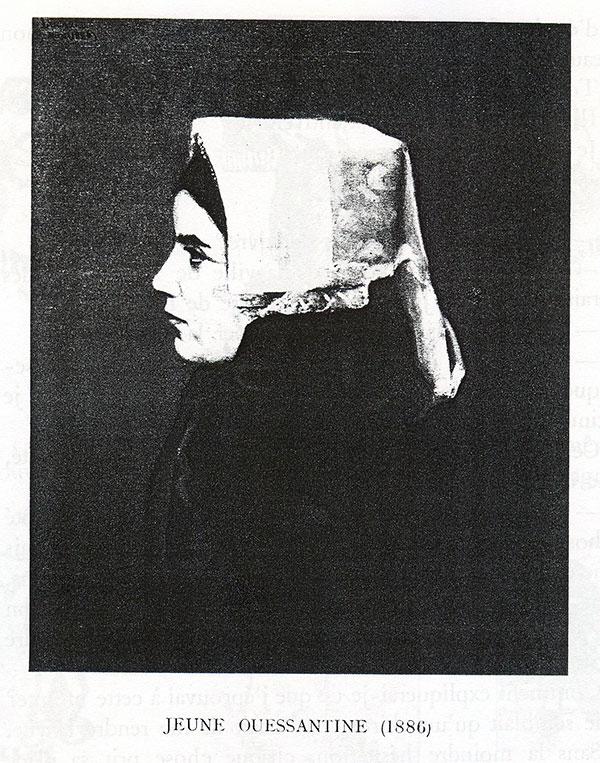 Désiré Lucas, une tête de jeune Ouessantine