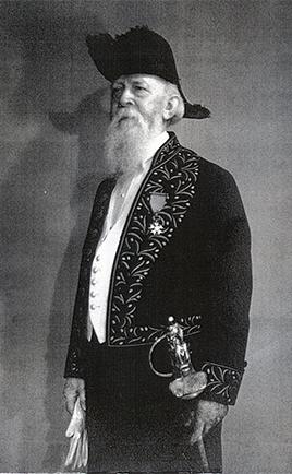 Désiré LUCAS Peintre, membre de l'Institut, officier de la Légion d'Honneur
